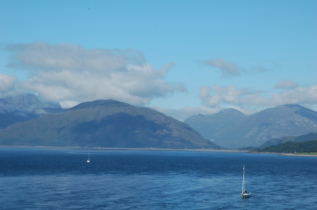Ballachulish Mountains at Loch Linnhe