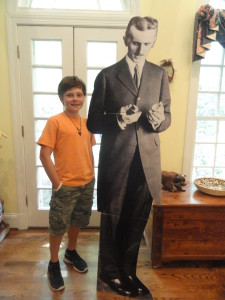 Some day I'll be as tall as Tesla