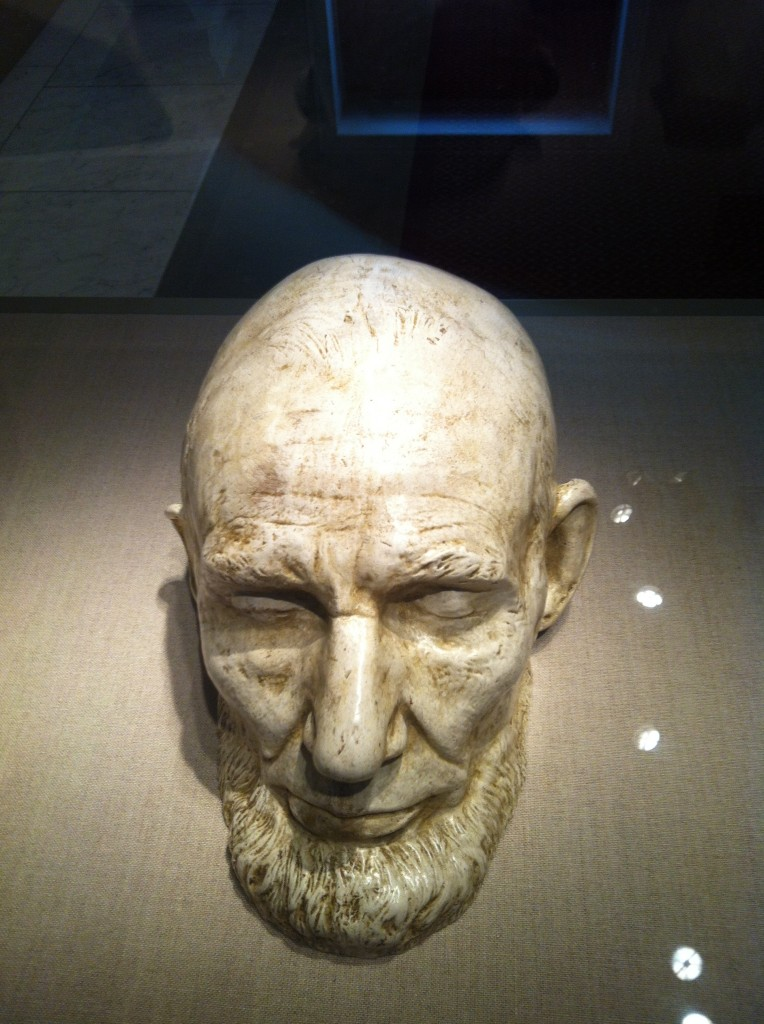 Abraham Lincoln Mills life mask