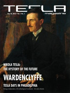 Tesla Magazine, first issue July 2013