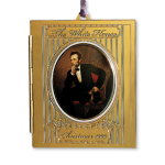 Abraham Lincoln Christmas Ornament 1999