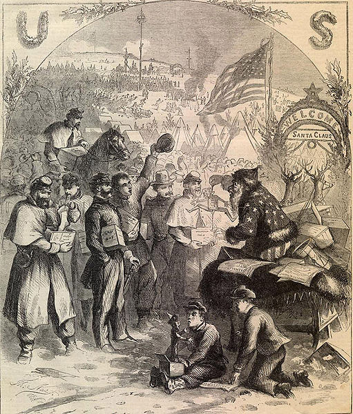 Thomas Nast 1863 Christmas