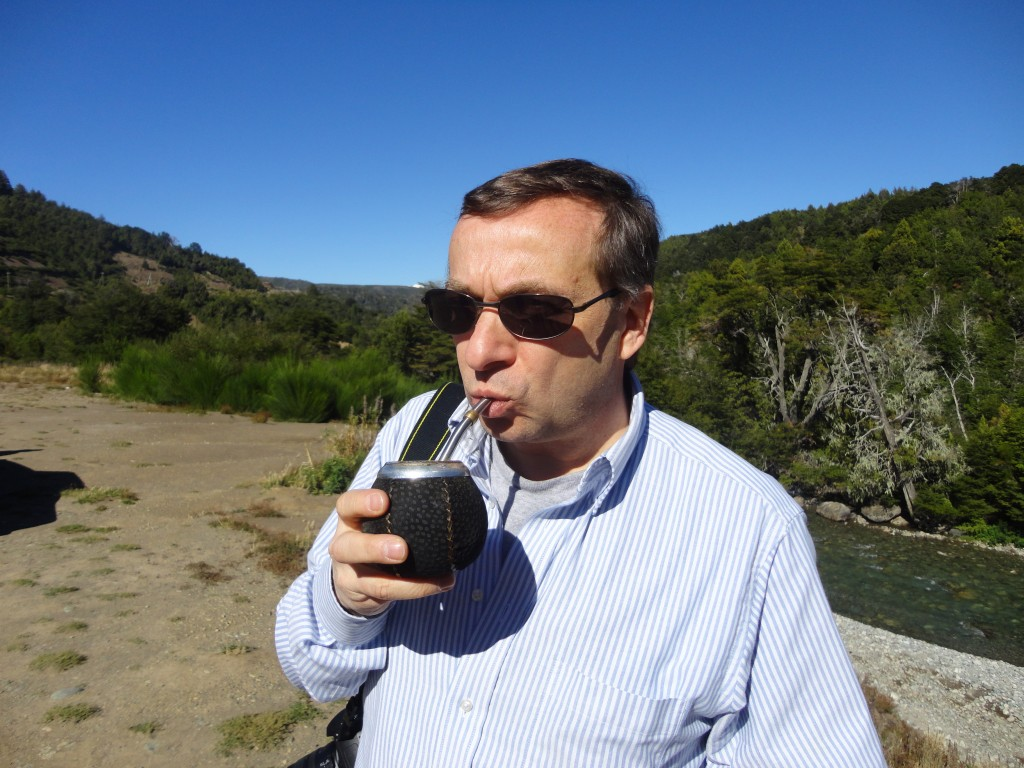 David J. Kent drinking mate