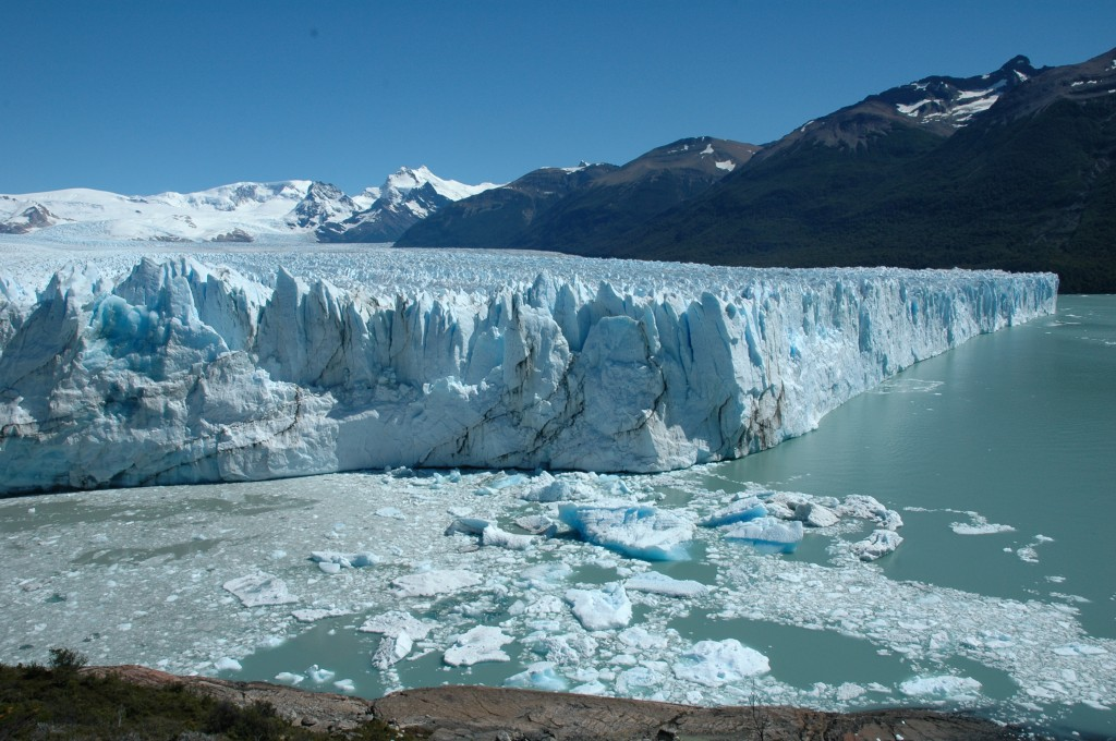 Perito Moreno glacier - front and north faces