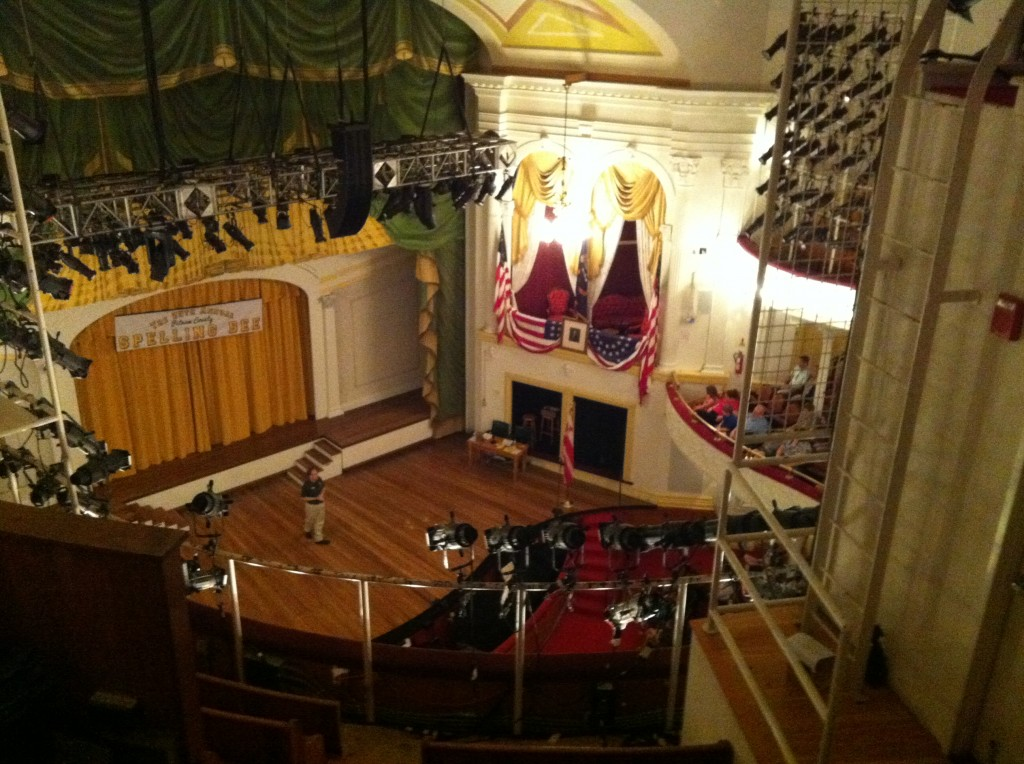 Ford's Theatre from the rafters