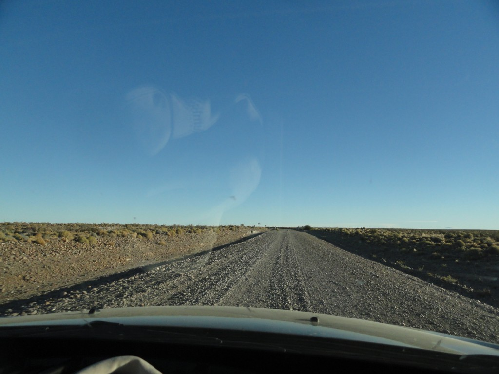 Gravel roads in Patagonia
