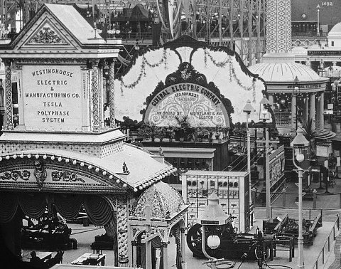 Tesla exhibit 1893 World's Fair