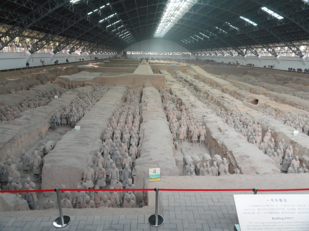 Terra cotta warriors Xi'an