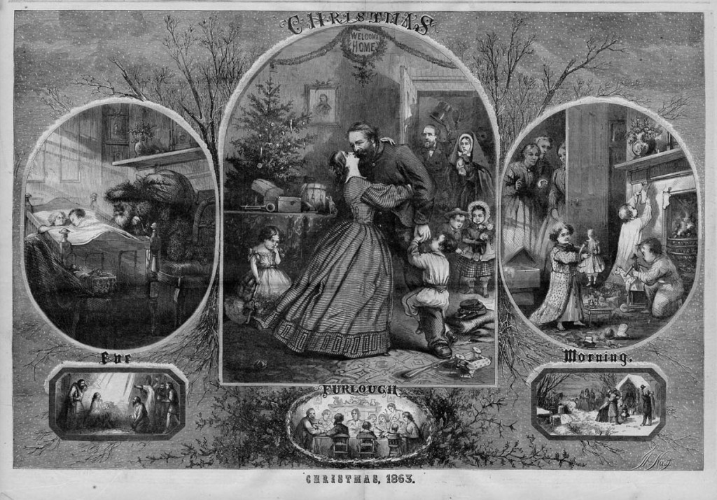 Thomas Nast Christmas 1863