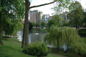 Ponds in Ixelles Brussels
