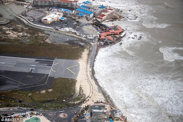 St. Maarten airport after Irma 2017