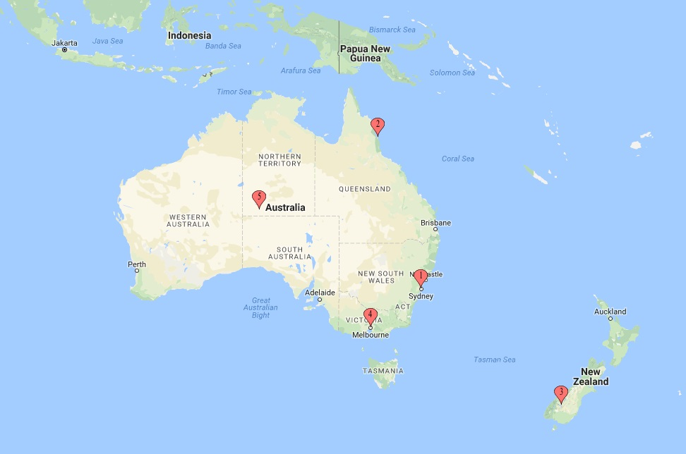 Science Traveling Australia And New Zealand Traveler